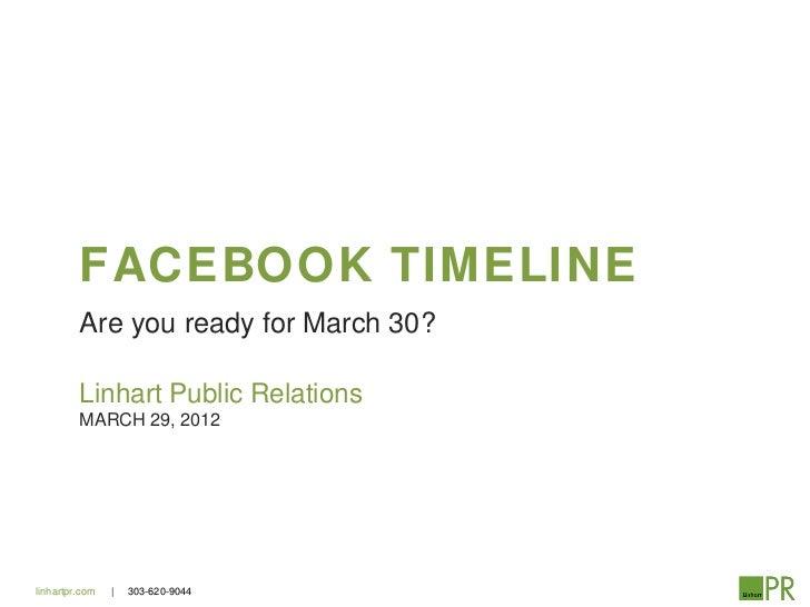 Facebook timeline details
