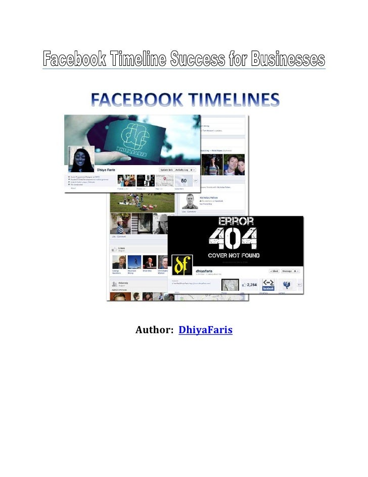 Facebook timeline success for business