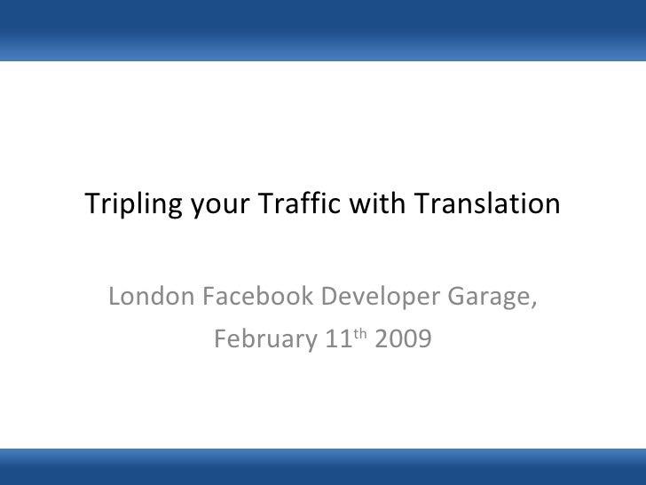 Facebook Translation Presentation 11 02 2009