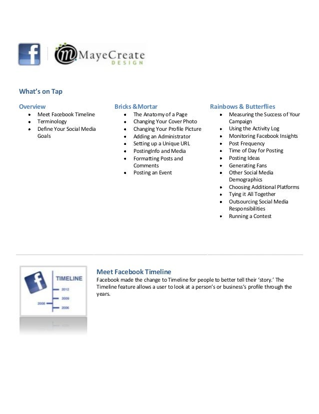 Facebook Frenzy Workbook