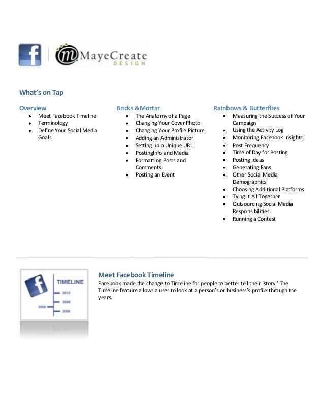 Facebook Frenzy Workbook