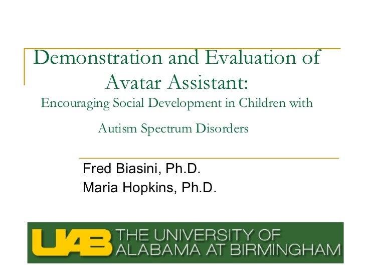 Encouraging Social Development in Children with Autism Spectrum Disorder