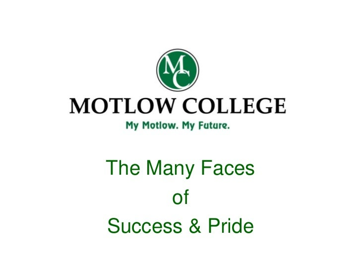 The Many Faces      ofSuccess & Pride