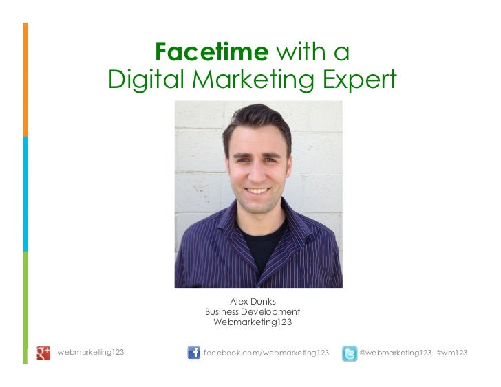 Facetime with an SEO expert