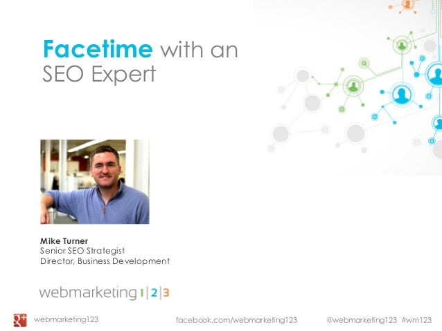 Facetime With an SEO Expert - slides
