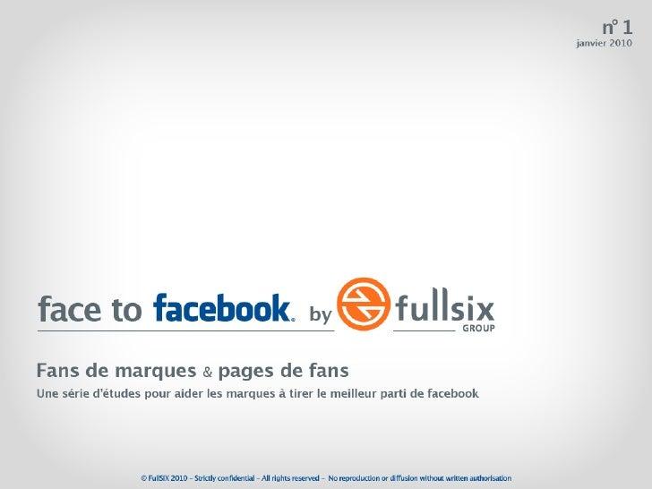 Face to facebook - L'étude