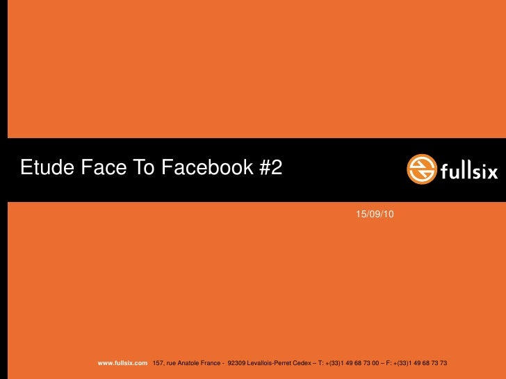 Face to facebook 2   community management- short fr
