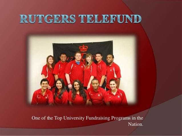One of the Top University Fundraising Programs in theNation.