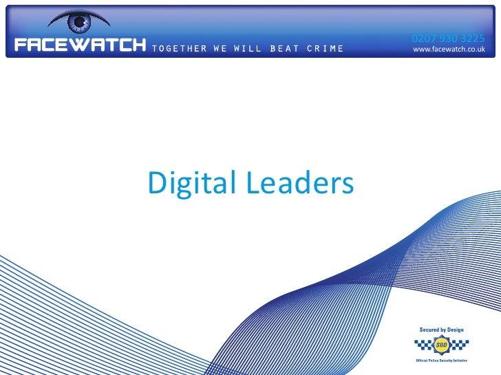 Facewatch Digital Leaders Presentation (23.10.2011)