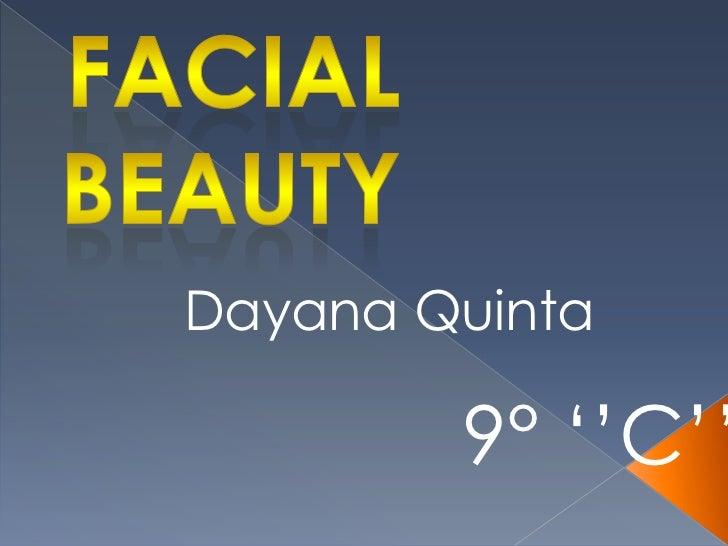 Facial beauty