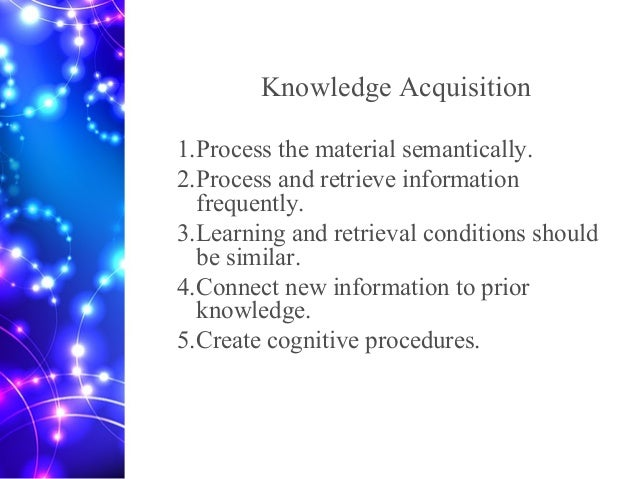knowledge acquisition essay Tok glossary this tok glossary helps you to understand the key ideas of theory of knowledge, and provides you with a powerful tool for your tok essay and presentation.