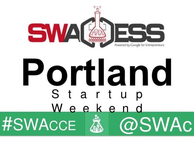 Facilitator Deck - Friday - Startup Weekend Access