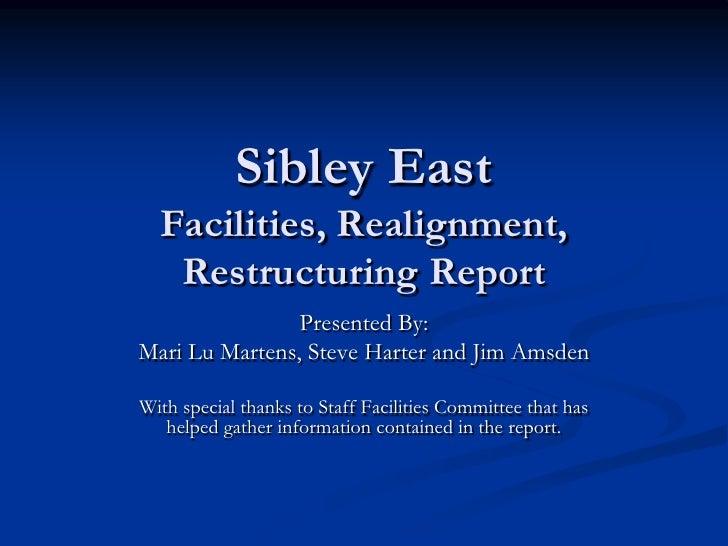 Facilities Realignment Report