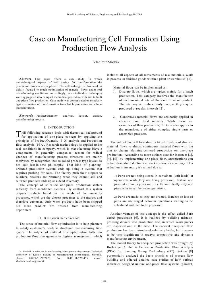 Facility & Layout Design Case Study