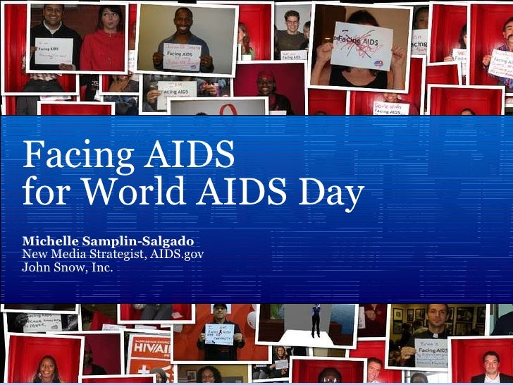 Facing AIDS for World AIDS Day 2009
