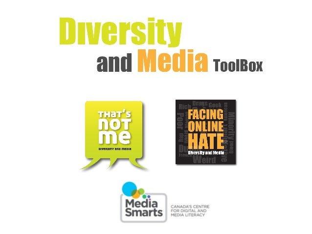 That's Not Me - Diversity and Media