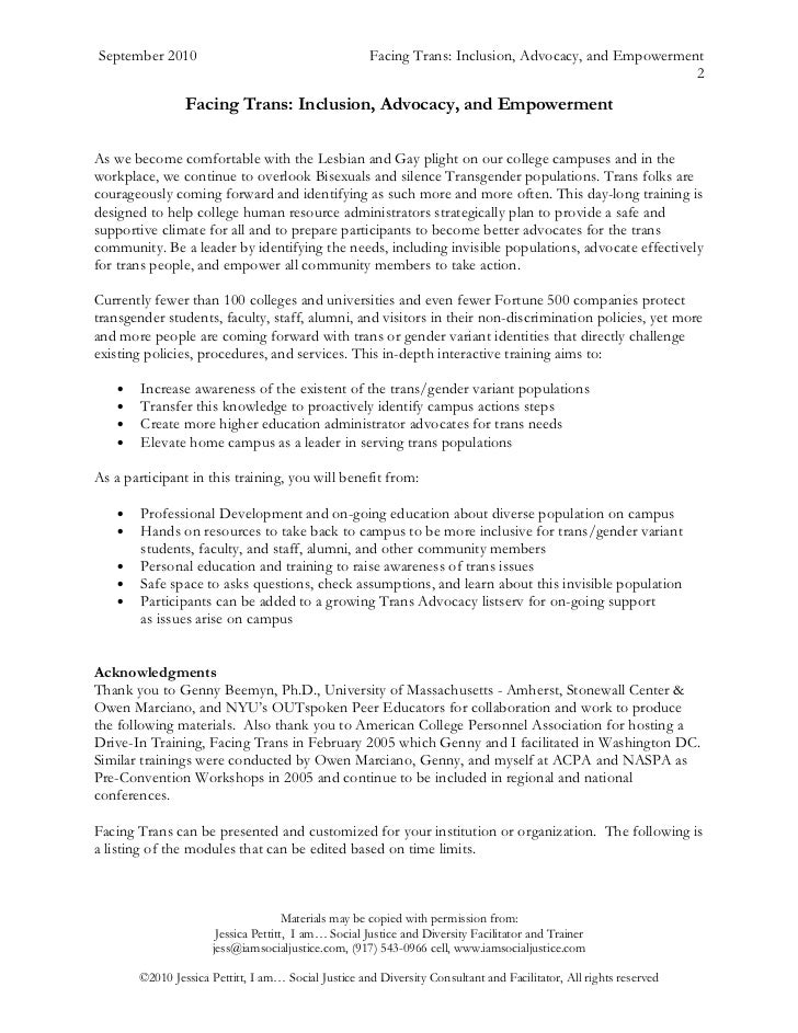 Empowerment research paper