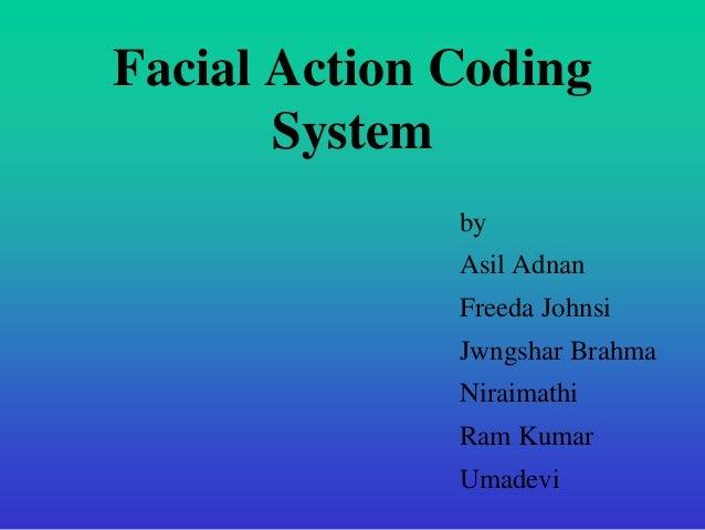 Cbsa facial action coding system