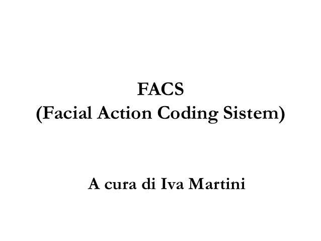 Facs (facial action coding sistem)
