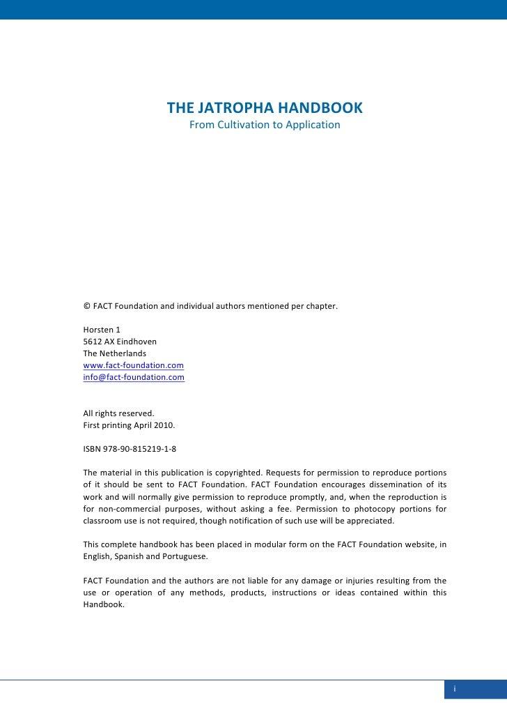 THEJATROPHAHANDBOOK                                 FromCultivationtoAppl...