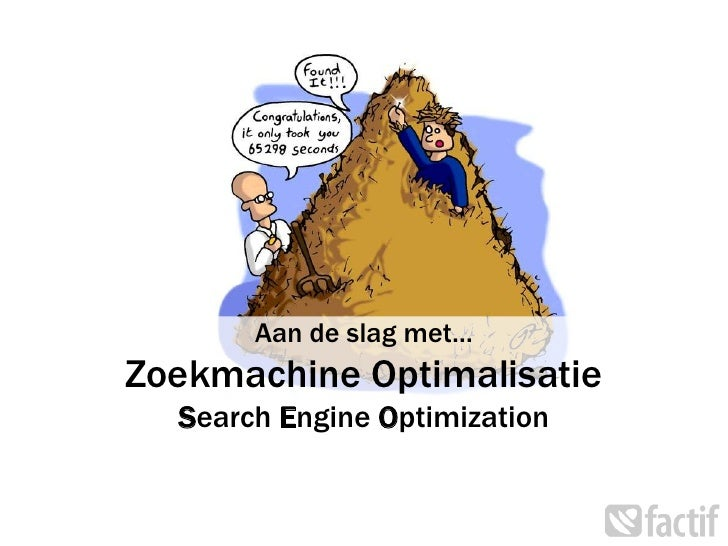 Preentaite zoekmachine optimalisatie