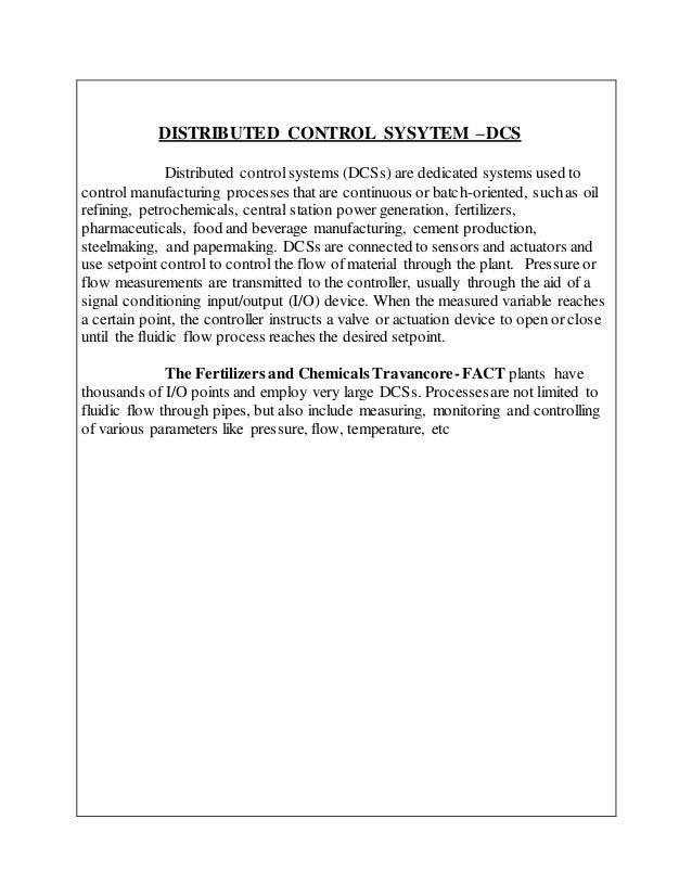Travancore Cochin Chemicals Recruitment 2018