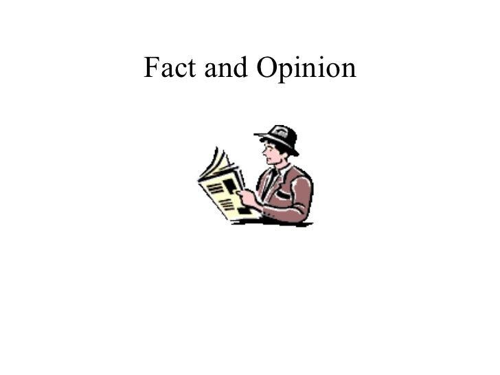 Fact&opinion