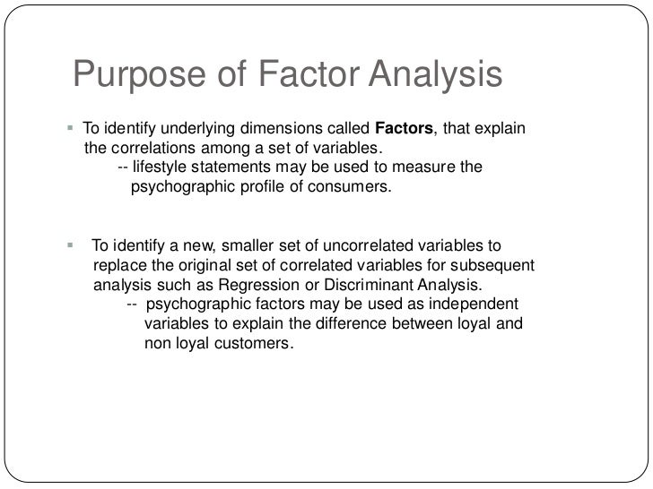 Descriptive and Analytic Studies