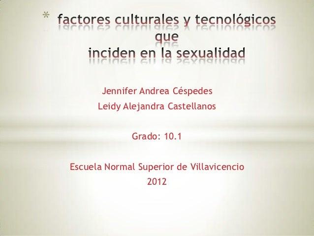 *           Jennifer Andrea Céspedes          Leidy Alejandra Castellanos                  Grado: 10.1    Escuela Normal S...