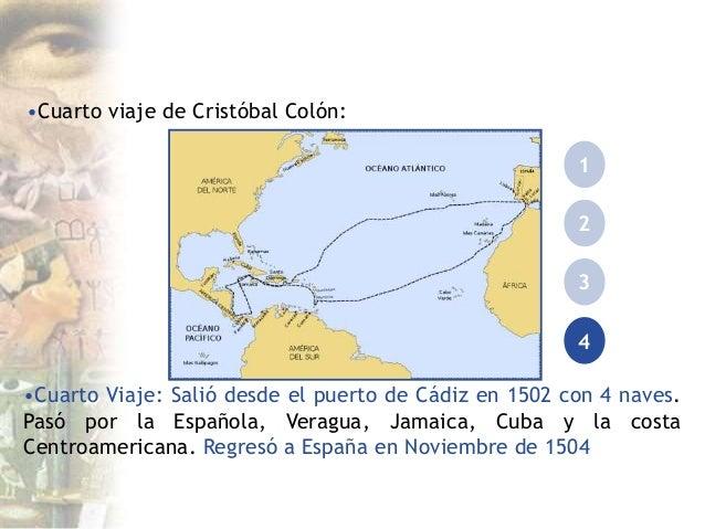 Expansi n de europa for Cuarto viaje de cristobal colon