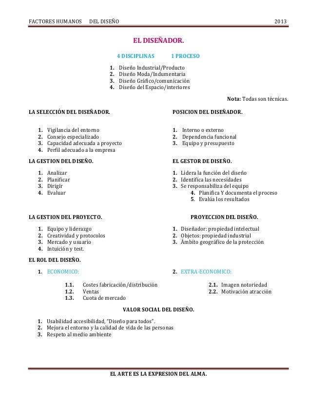 Factores humanos del diseño 1