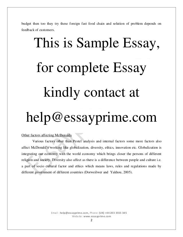 Common application essay help