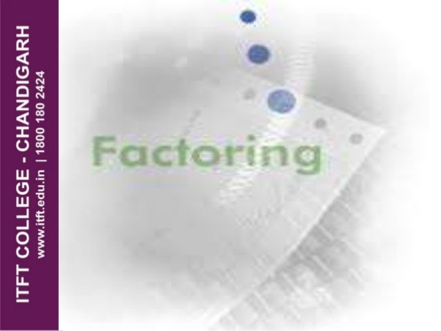 Factoring is a financial transaction in which a business sells its accounts receivable (i.e., invoices) to a third party (...