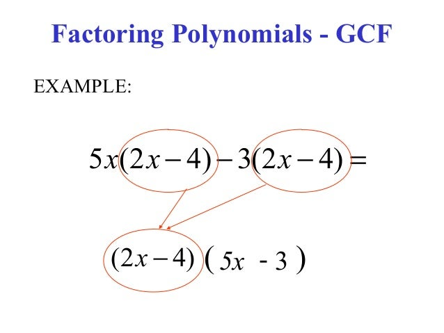 Factoring Polynomials Using Gcf Worksheet Worksheets For School ...