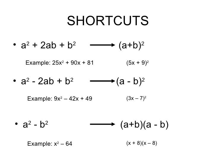 factoring examples