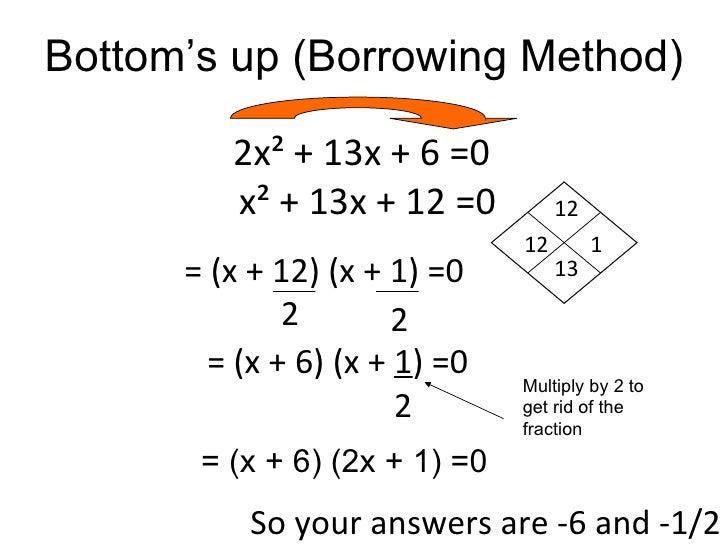 Solve Quadratics By Factoring Workshet 04 - Solve Quadratics By Factoring Workshet