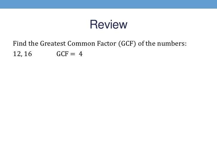 Similiar Greatest Common Factor Tree Keywords