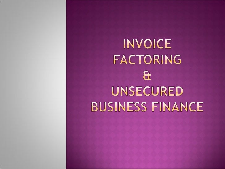 factoring account receivable: