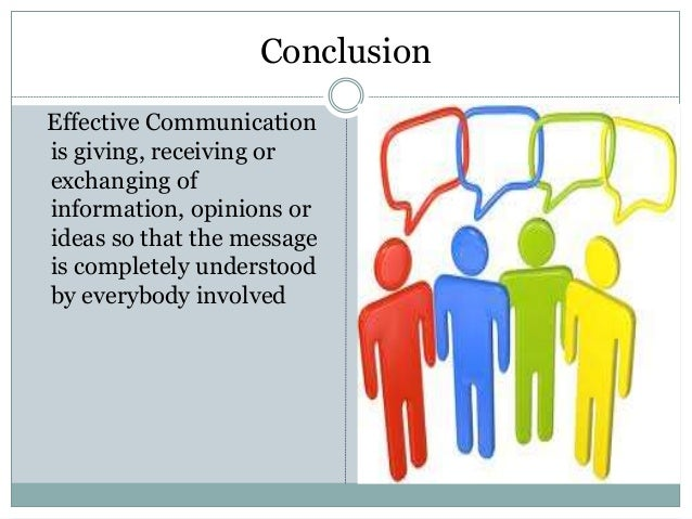 the factors affecting the effectiveness of communication