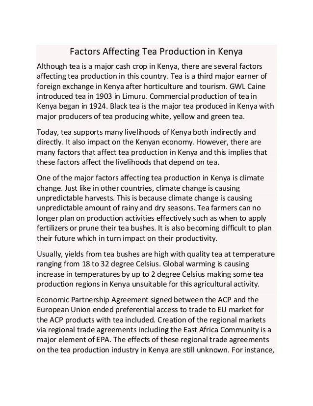 Factors Affecting Employment in Kenya