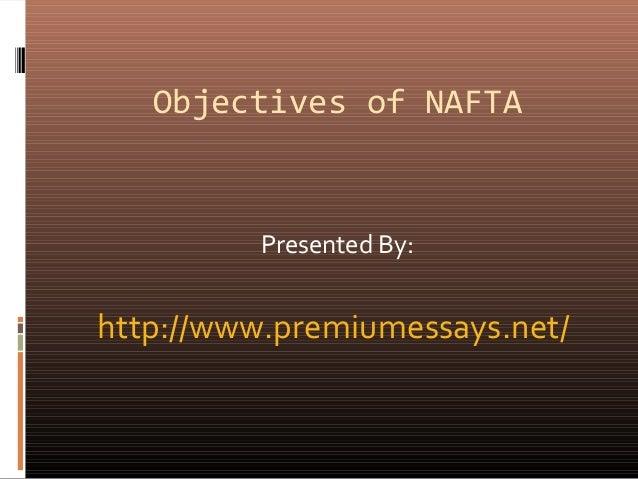 Nafta Essays
