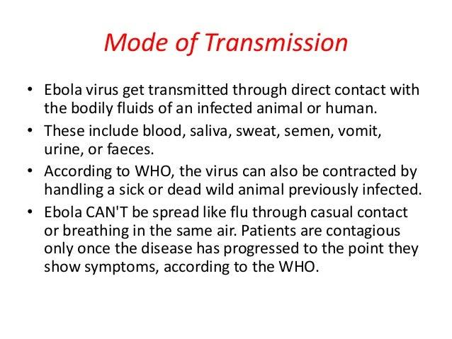 causes of ebola virus disease pdf