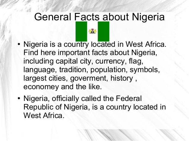 Image result for nigeria facts and latest news