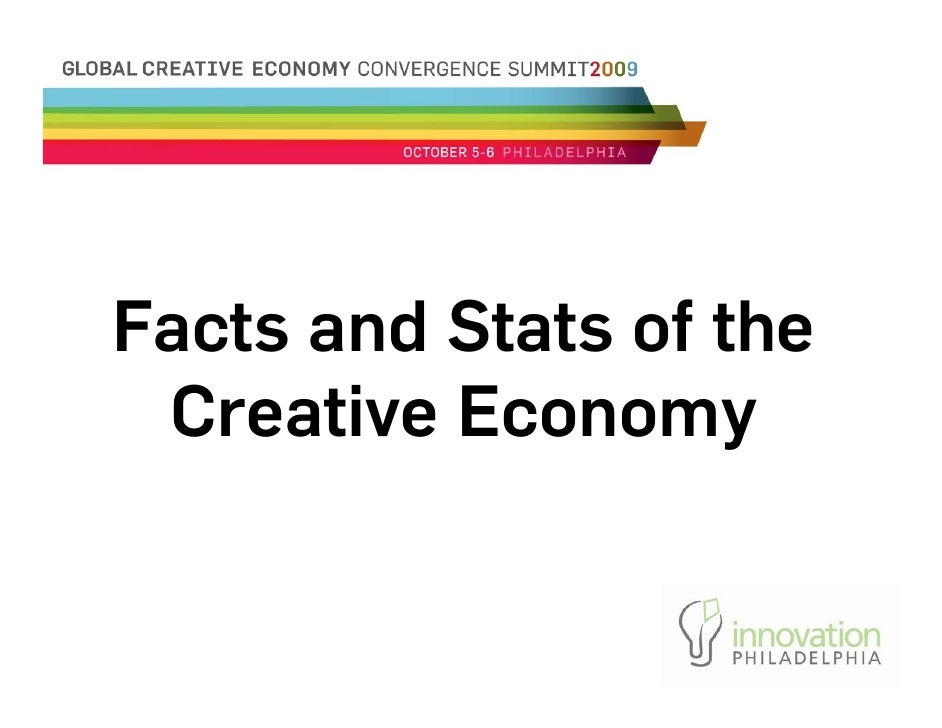 Facts And Stats Of The Creative Economy