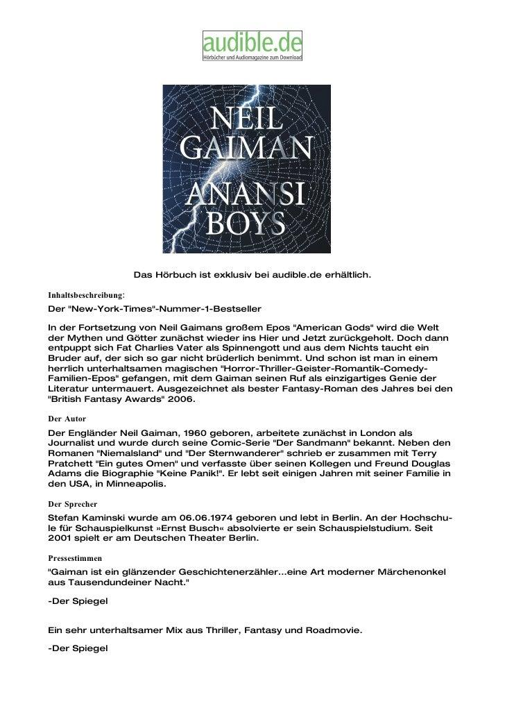 """Das Hörbuch ist exklusiv bei audible.de erhältlich.  Inhaltsbeschreibung: Der """"New-York-Times""""-Nummer-1-Bestseller  In der..."""