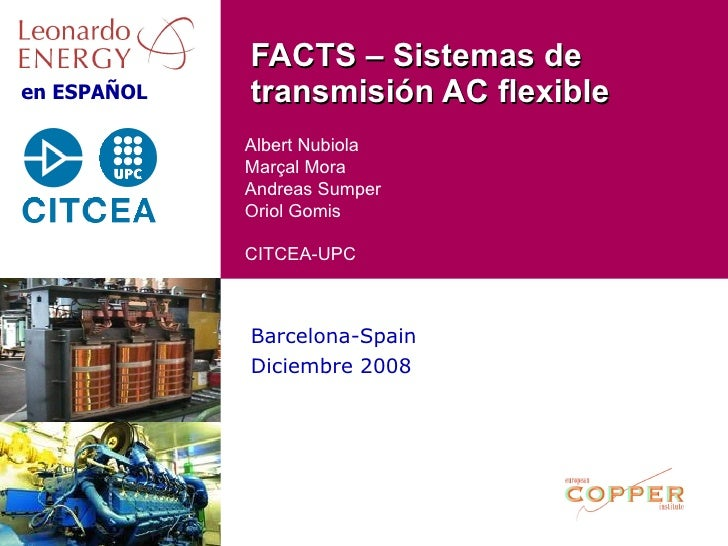 FACTS : Flexible AC Transmission System