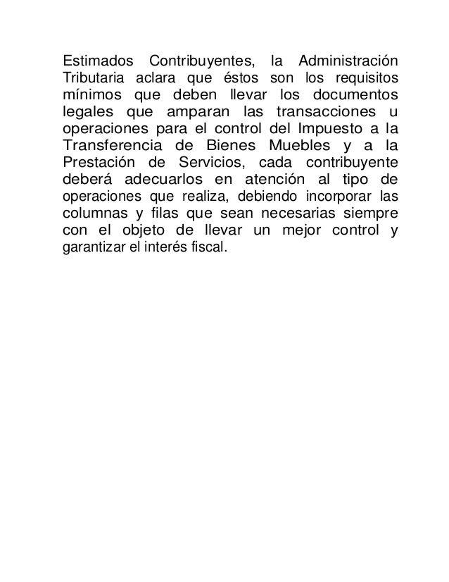 Facturacion segun reformas Código Tributario - El Salvador