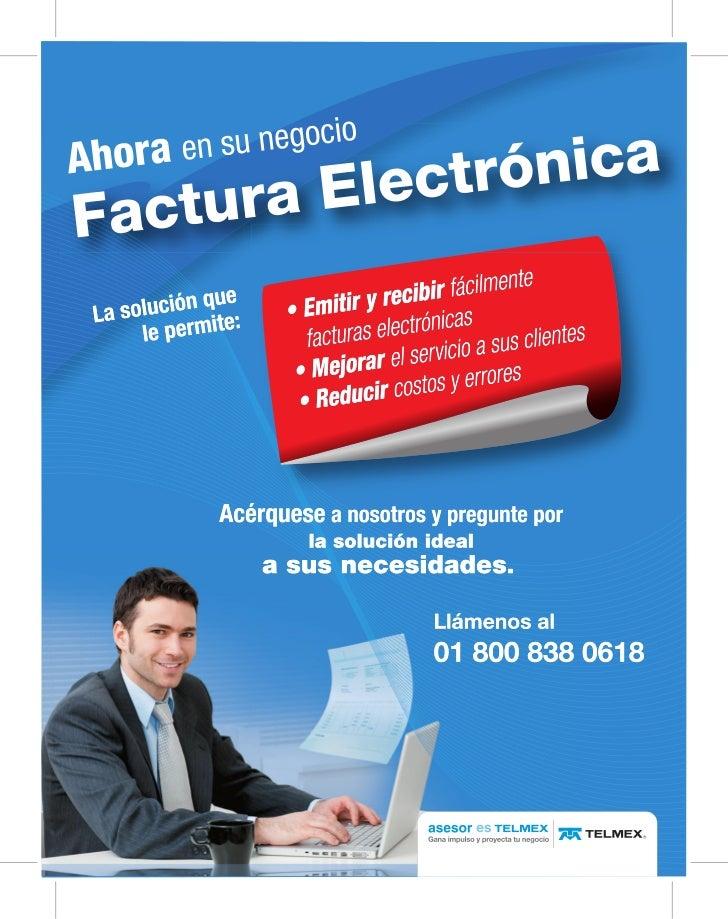 Facturas electronicas telmex