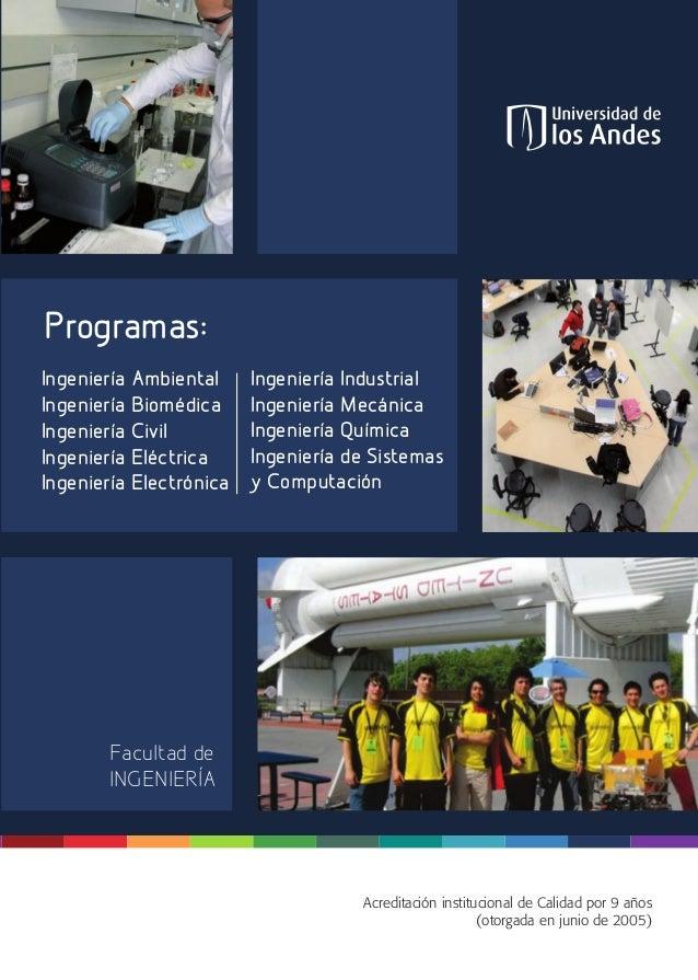 INGENIERÍA Atención a aspirantes http://aspirantes.uniandes.edu.co Oficina de Scouting y Promoción Dirección de Admisiones...