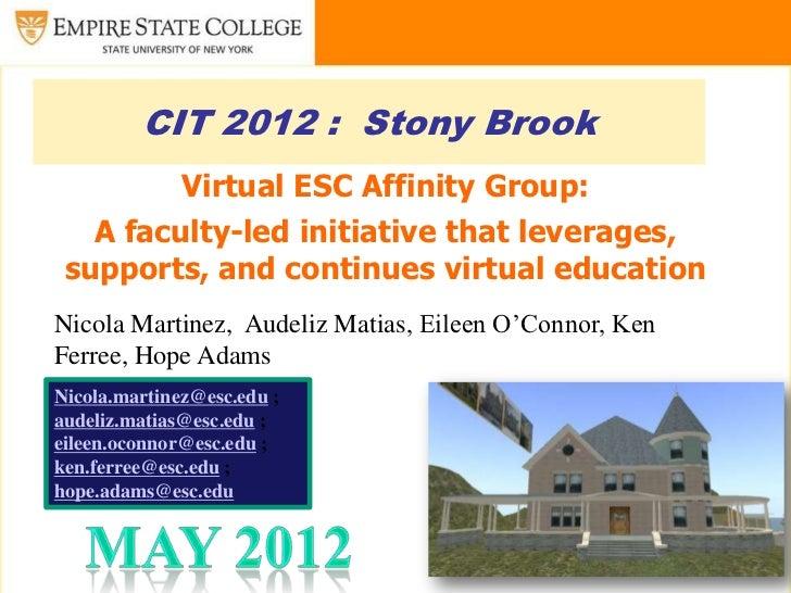 VirtualESC - CIT 2012